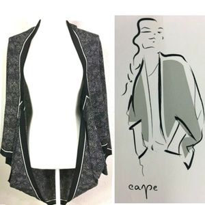 A New Day Open Front Lightweight Flowing Cape